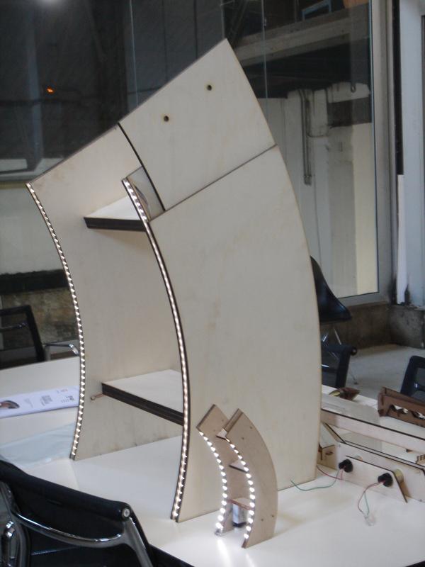 1:1 MODEL OF LED LIGHTING PROPOSAL